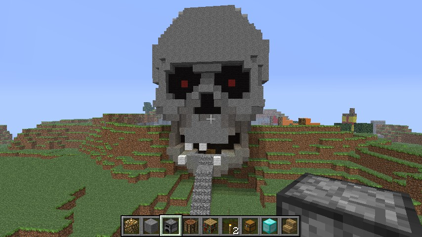 minecraft how to create a skyworld