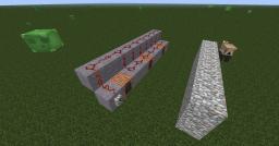 RedStone Minigun Minecraft Map & Project