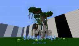 Bonsai Tree Minecraft Map & Project
