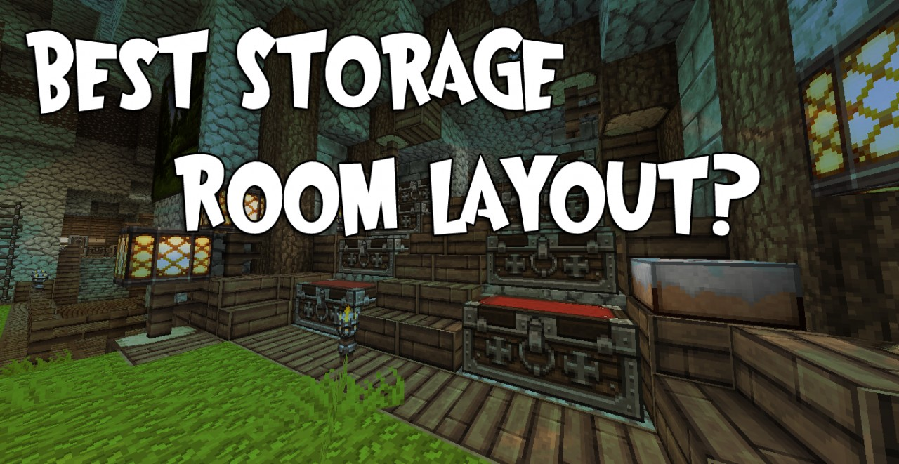 Cool Storage Room Ideas Minecraft Images