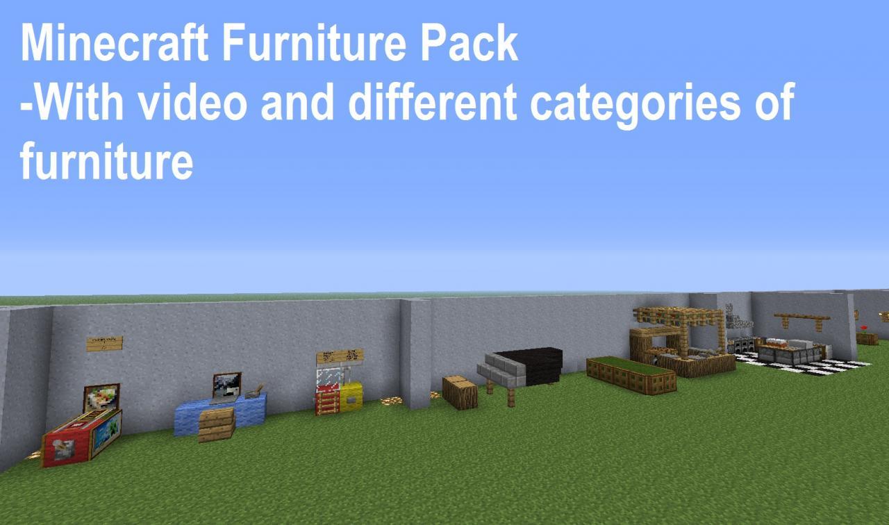 Minecraft Furniture Pack Minecraft Project
