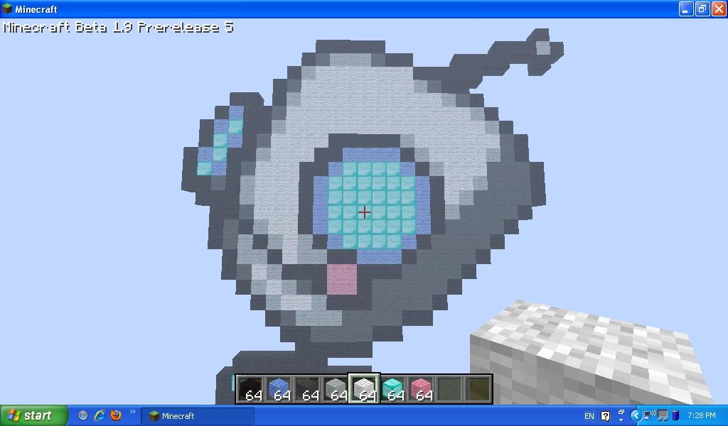 Gir Robot Form. Minecraft Project