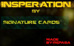 Inspirational Signature cards-[ OPEN ]- Minecraft Blog Post