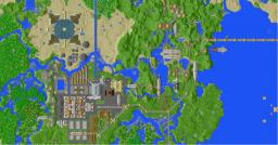 "Steampunk map update ""the city of Brickhaven"" Minecraft Project"