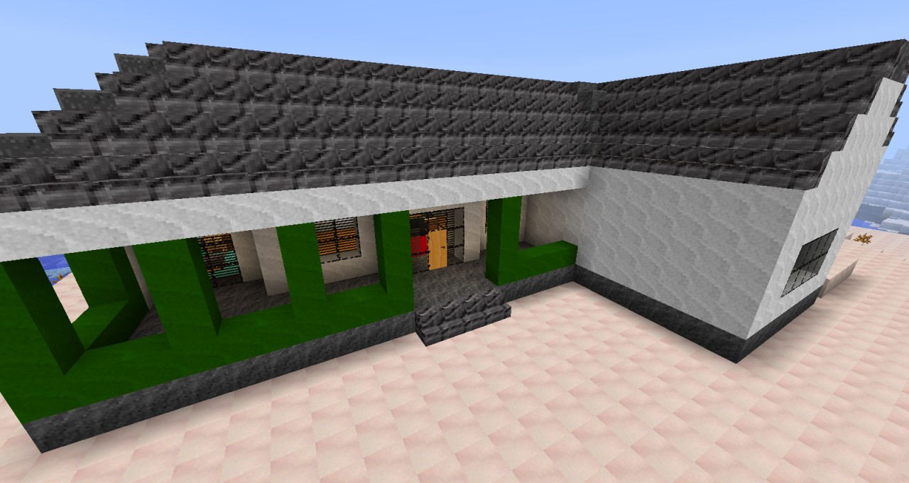 Architectural Ranch House( use's furniture mod) Minecraft