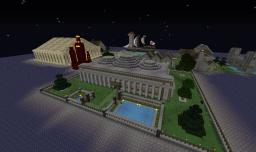 Village, Castle, Mansion, House, Temple, and Ship Minecraft Map & Project