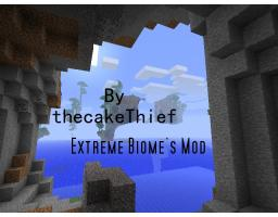 Extreme Biomes Minecraft Mod
