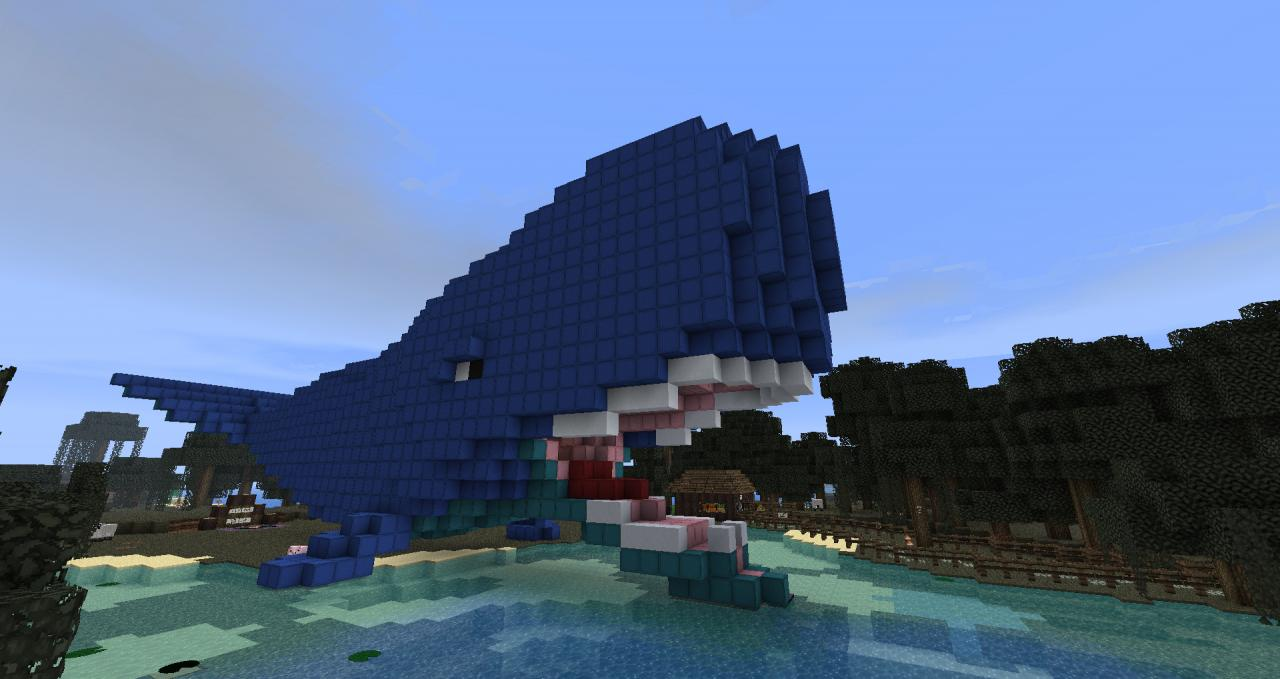 Inside A Whale 3d Art Amp Minecraft Project