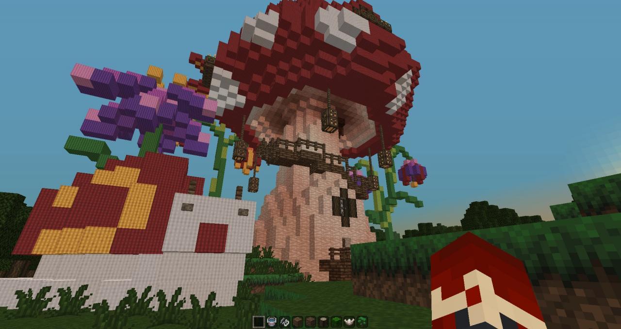 Mushroom Wonderland Minecraft