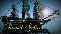 Royall Galleon Minecraft Map & Project