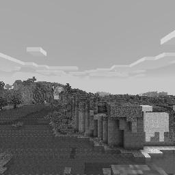 Minecraft Greyscale Minecraft Texture Pack