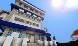 Seablue manor [Thevoxelbox guest build] Minecraft Map & Project