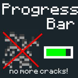 Progress Bar Cracks 1.4.7/1.4.6 *Optifine Nedded* Minecraft Texture Pack