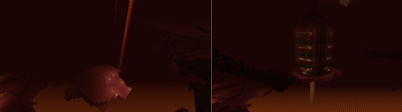 before and after photos of the mages tower
