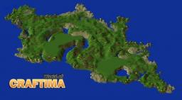 World of Craftima [Custom Terrain] Minecraft Map & Project