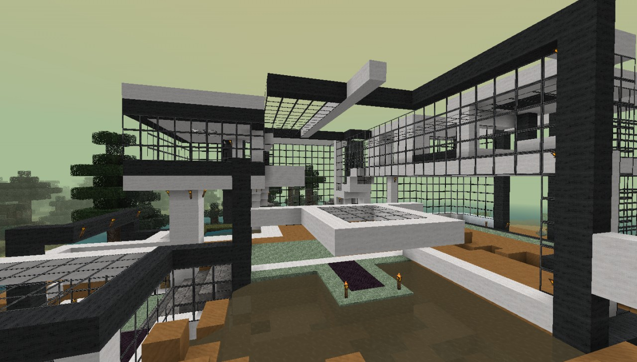 Modern house berlinetta minecraft project for Modern house projects