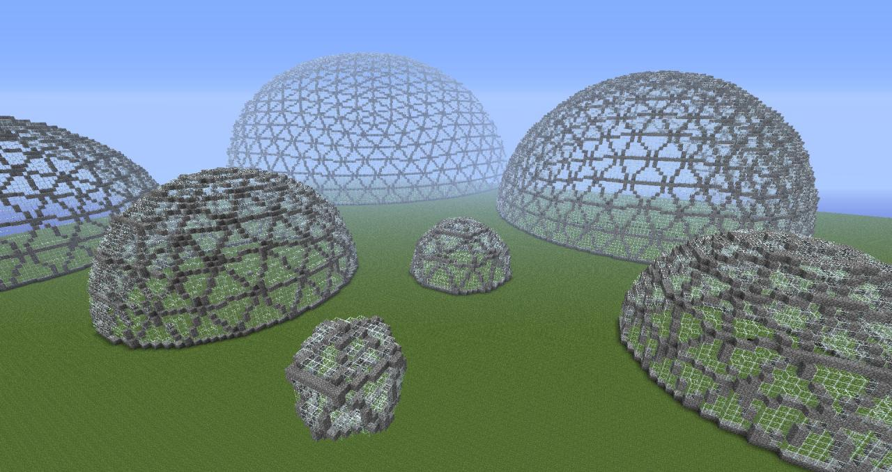 Geodesic Domes Minecraft