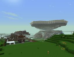 The buildings and biomes of our server Minecraft Map & Project