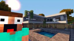 Modern House 3 Tutorial - Beach Town Project Minecraft