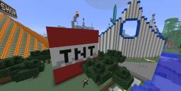 giant LIT tnt block