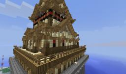 Sino-Japanese Palace Minecraft Map & Project