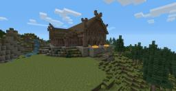 The Golden Hall Minecraft Map & Project