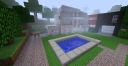 Luxary Sea side house ( Inspired by real house ) ! Minecraft Map & Project