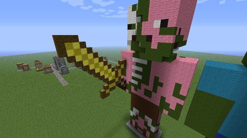 The Battle Of The Titans Minecraft Project