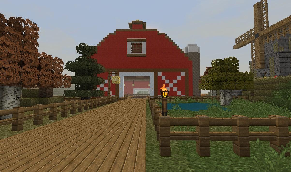 Farm Minecraft Project for Farm Minecraft Barn  45gtk