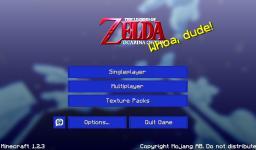 Texture Pack Zelda Ocarina Of Time 128x128 (1.6.2) Minecraft