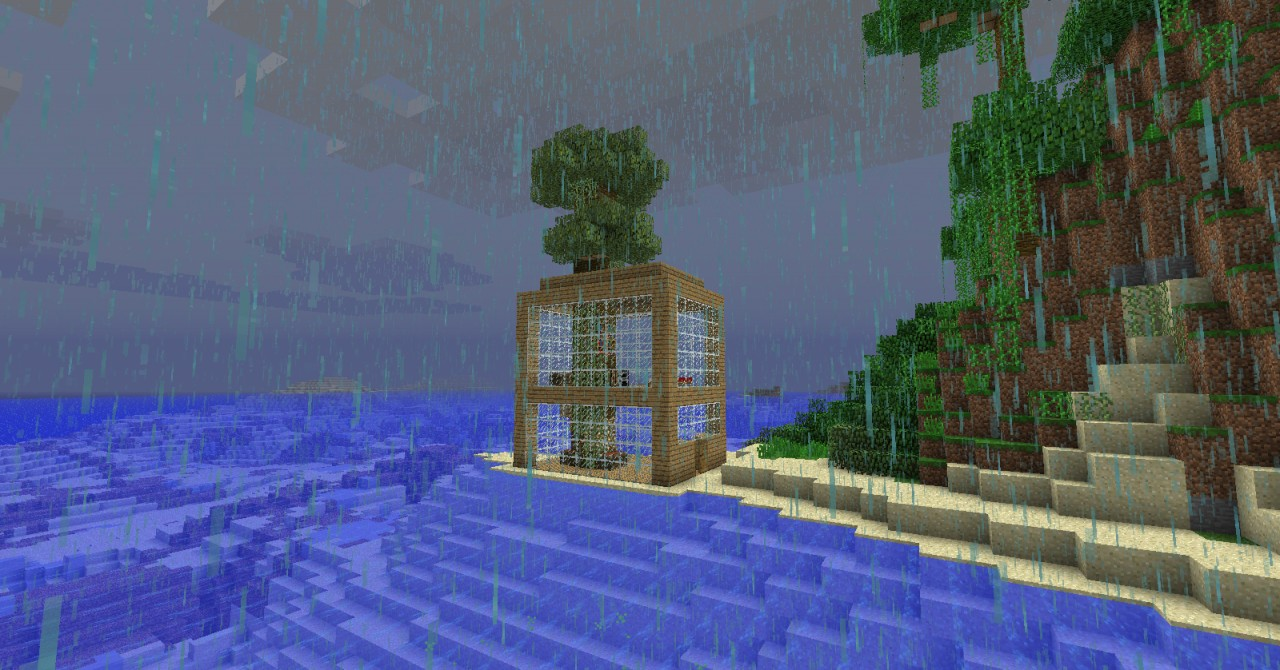 Minecraft Tropical Island: Tropical Island Survival Minecraft Project