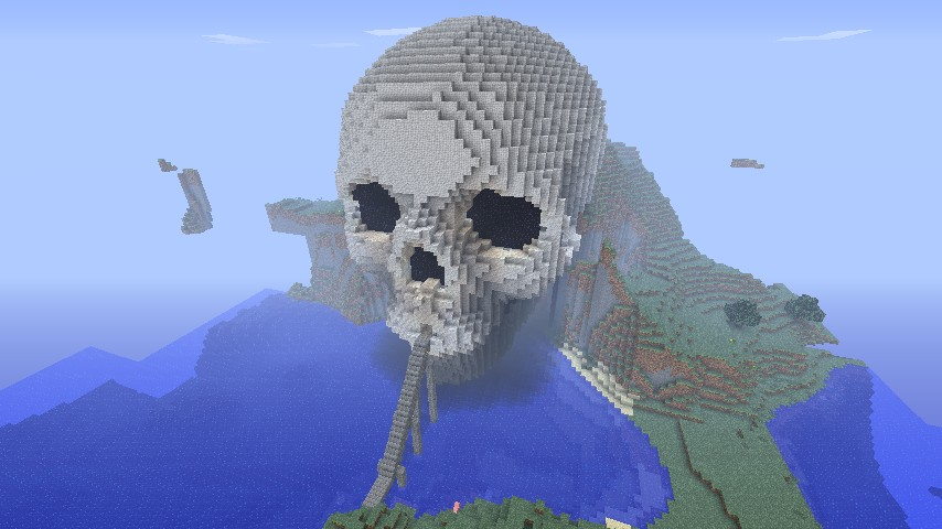 Skull cave Minecraft Project