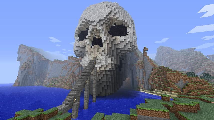 Skull Cave Minecraft Project
