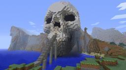 Skull cave Minecraft