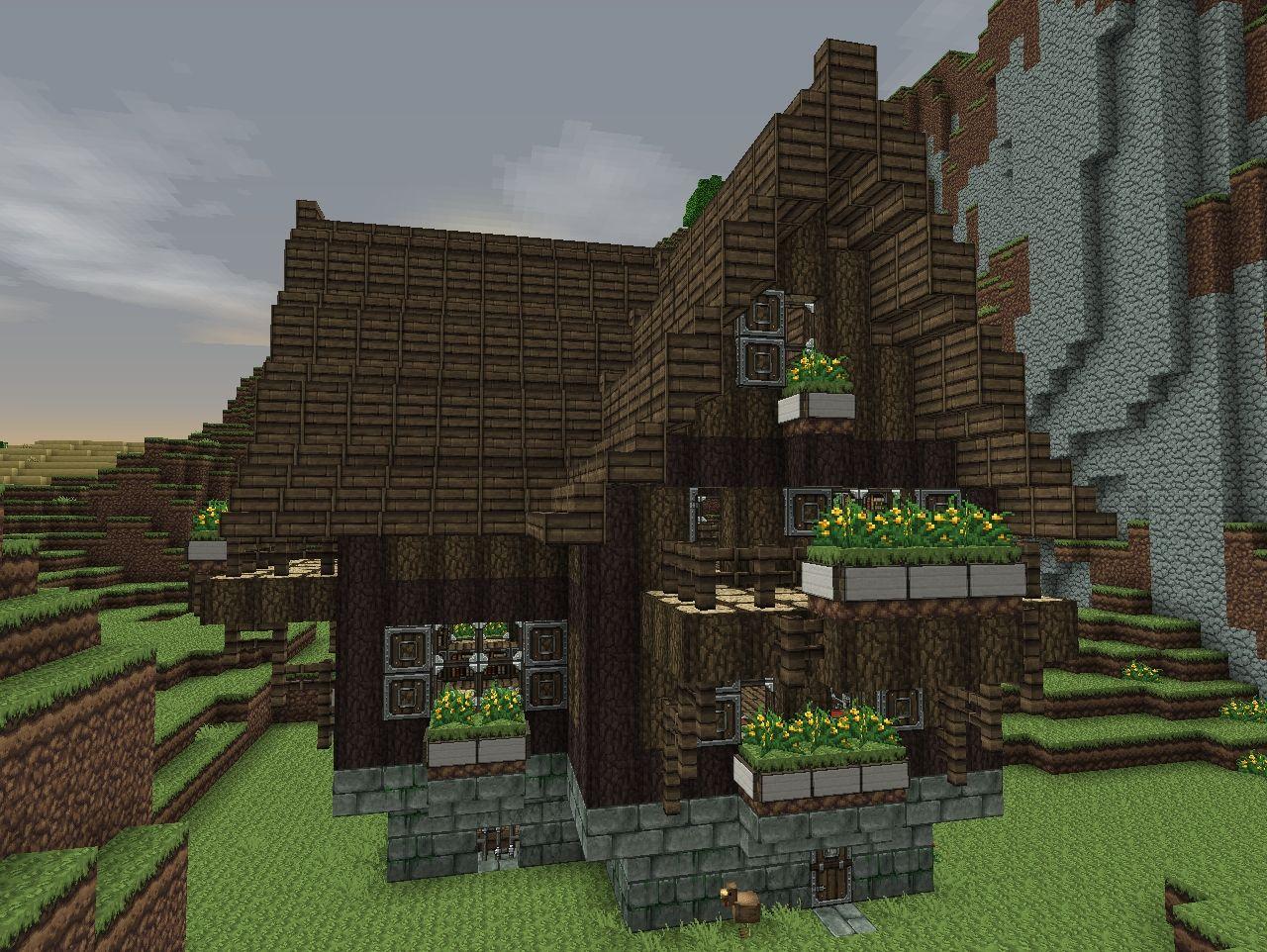 My cozy farmhouse Minecraft Project
