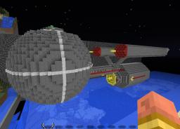 Mozzie Scale Daedalus class starship Minecraft Project