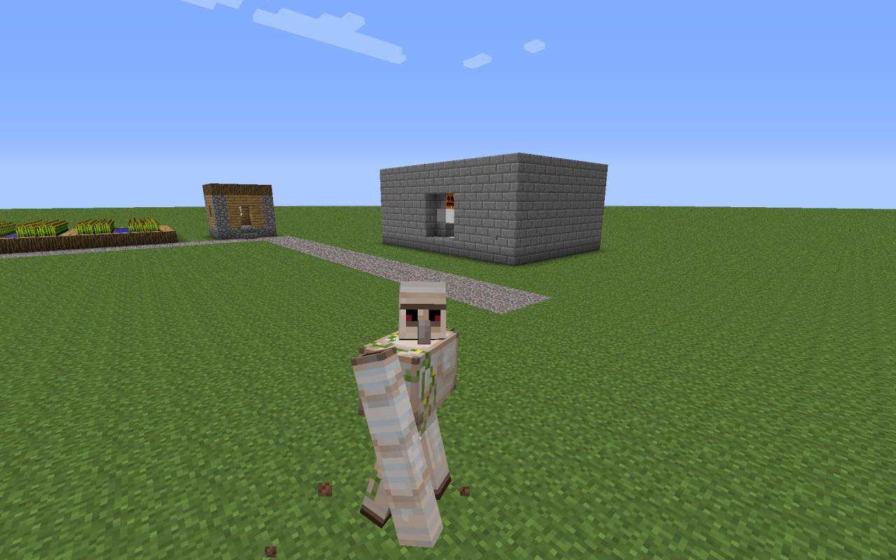 iron golem generator minecraft project