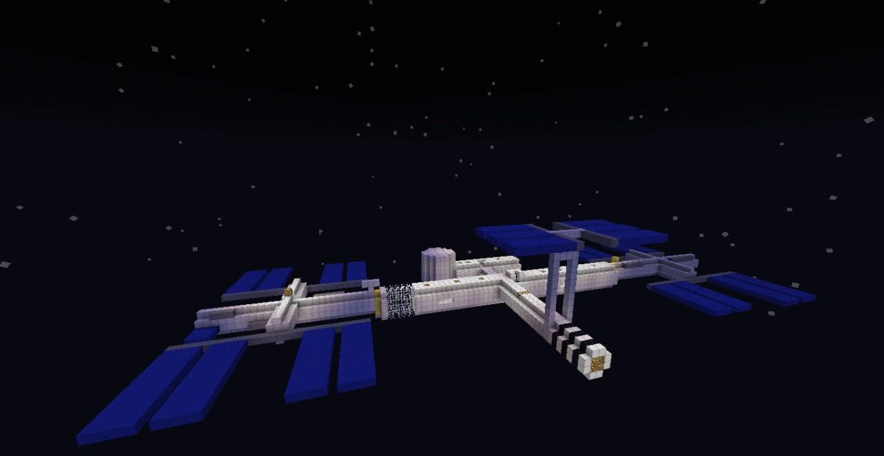International Space Station (Model) Minecraft Project