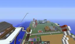 Building a city on my server Minecraft Map & Project