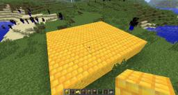 Gold Brick Block 1.4.5 Minecraft Mod