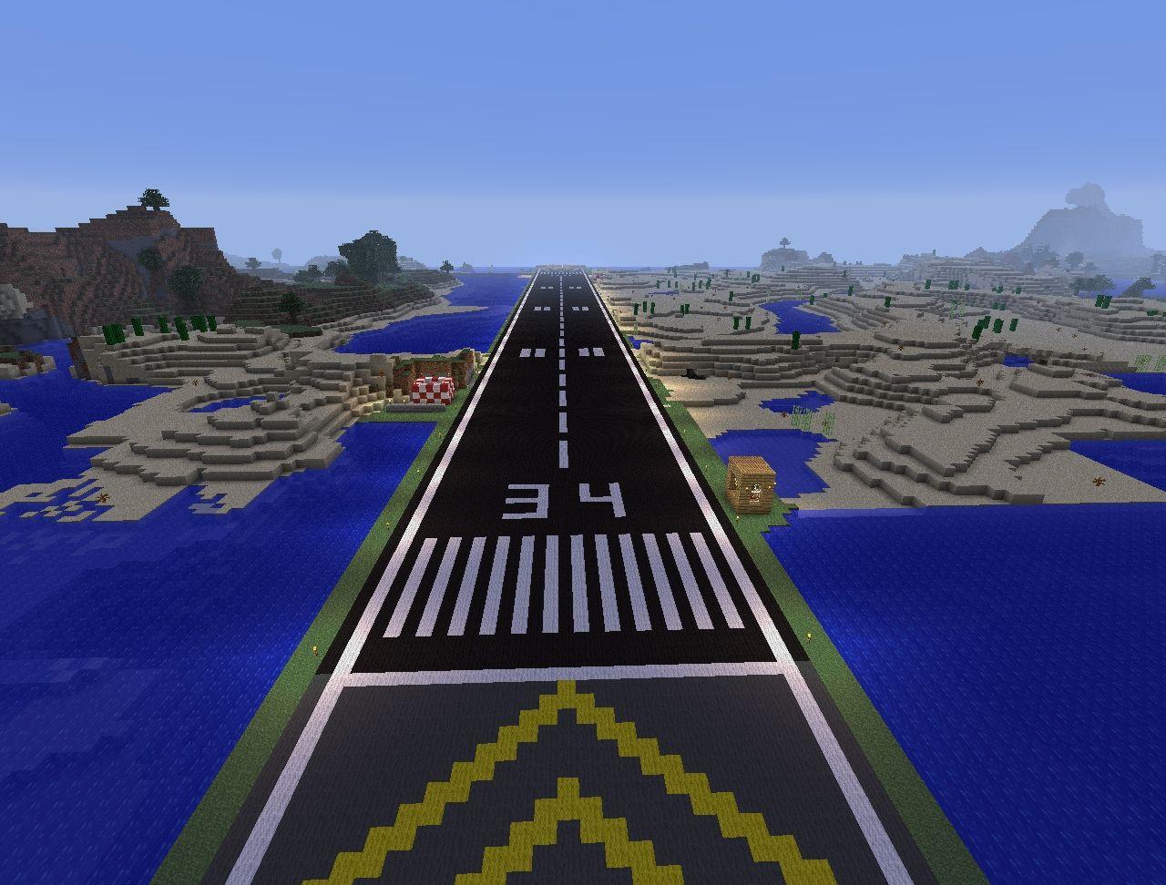 Grasmere International Airport - Runway 98/34 Minecraft ...