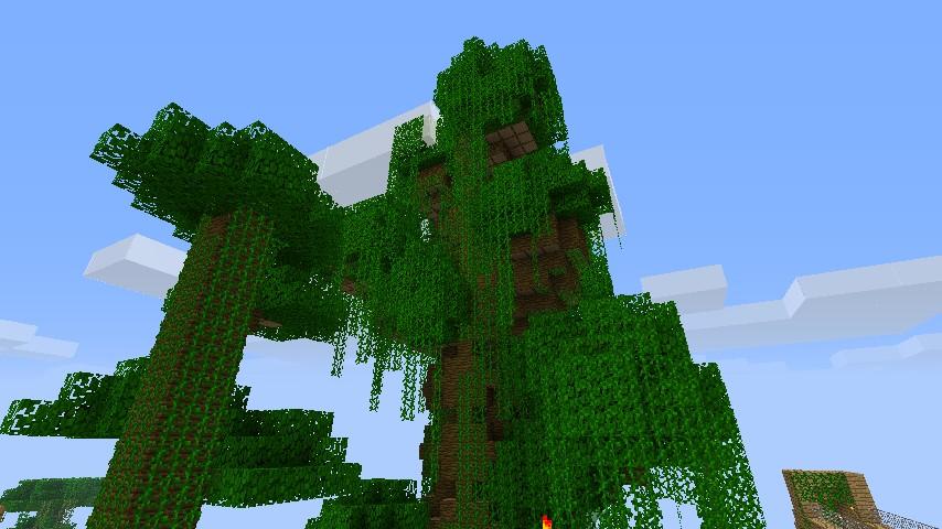 Huge Jungle Tree Minecraft Project
