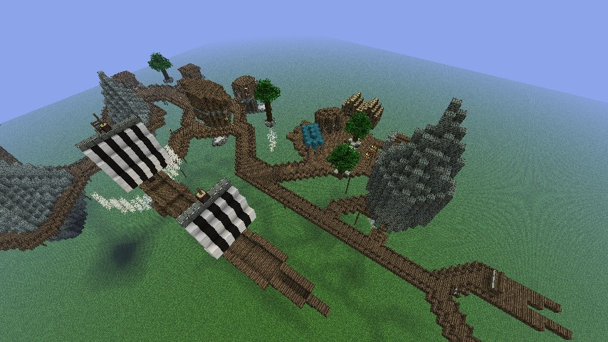 minecraft how to build a city in the sky
