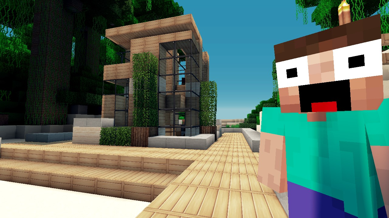 How To Build A Small Modern House In Minecraft Stunning Minecraft