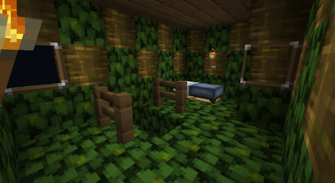 how to make a cat tree in minecraft