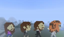 TheBeatles Minecraft Map & Project