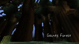 Giant's Forest Minecraft Project