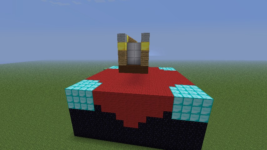 How To Build A Crafting Table Statue In Minecraft