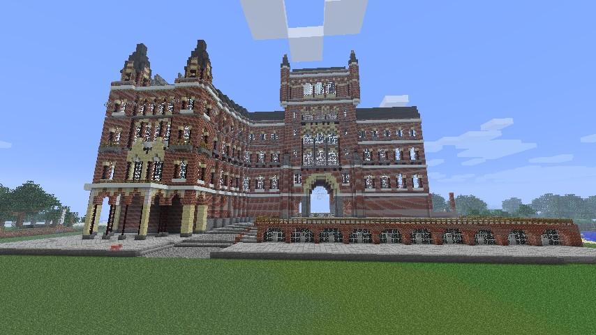 St Pancras Train Station Minecraft Map