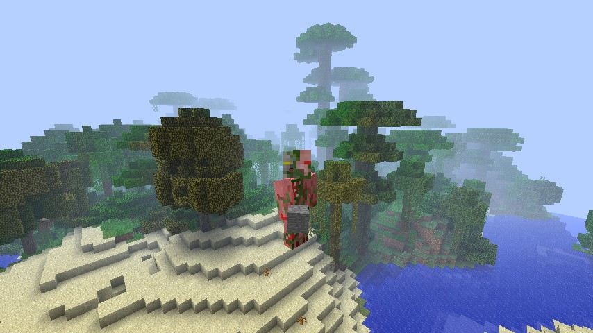 how to make a jungle biome in minecraft
